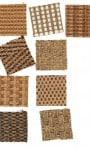 Moquettes en fibres végétales